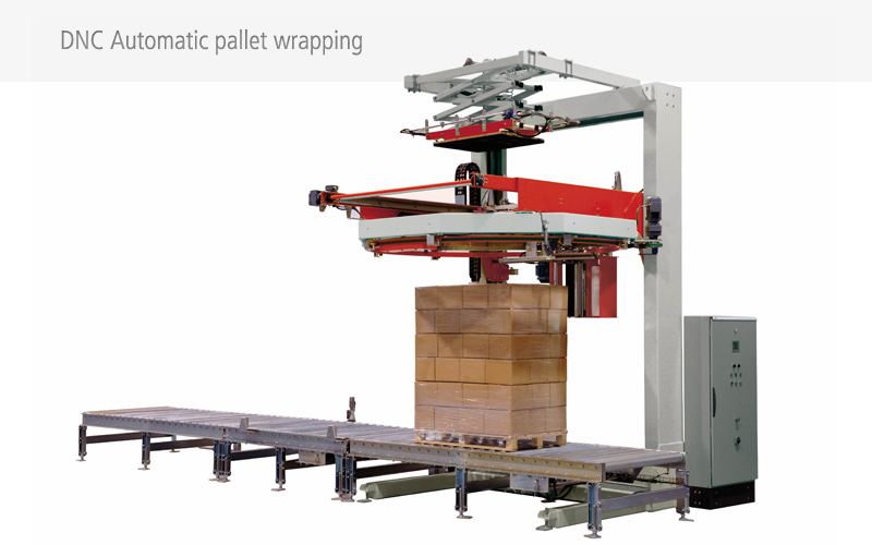 Automatic pallet wrapping
