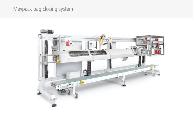 Bag closing machines