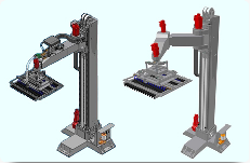 3-4 Axis Column Palletisers