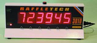 Raffletech 3010 Raffle Machine
