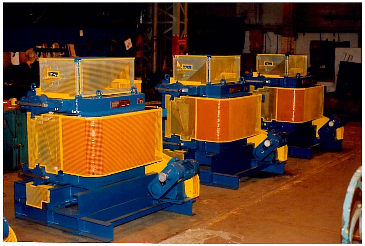 Induced Roll Magnetic Separators