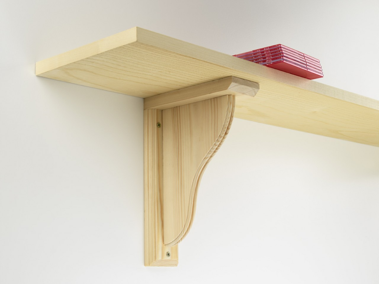 The Oxford Shelving Co Ltd Traditional Wooden Shelf Brackets