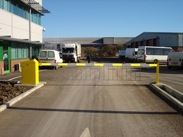 Manual Security Barriers