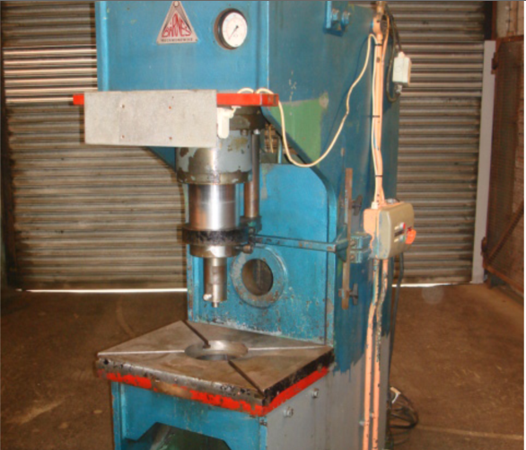 BARNES C FRAME PRESS