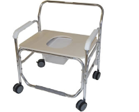 """28"""" Bariatric Commode / Shower Chair"""