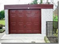 Pent Flat Roof Sectional Concrete Garages