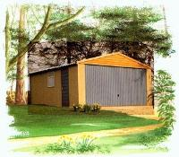 Pitched Roof Concrete Sectional Garage