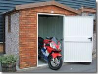Motorcycle Storage Secure Shed