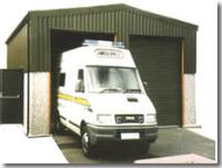 Extra Height Prefab Tall Vehicle Garages