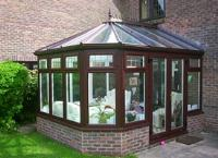 Rosewood Colour Victorian Conservatory
