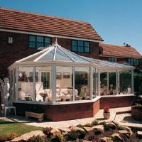 Large P Shape Victorian Conservatory