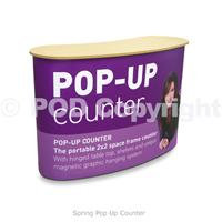 Spring Pop Up Counter