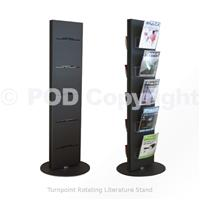 Turnpoint Rotating Literature Stand