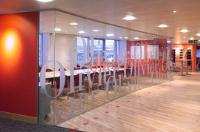 Frameless Office Partitions