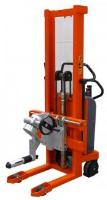 Reel Lifting and Handling with Vertical Spindle Attachment