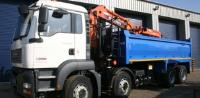 32 Tonne Tipper For Hire