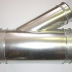 30 Degree Branch ductwork component