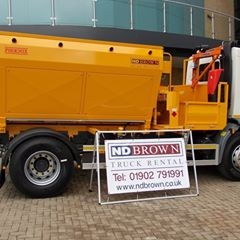 2012 DAF LF55 INSULATED TIPPERS for HIRE