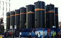 Vertical Storage Tanks for Hire