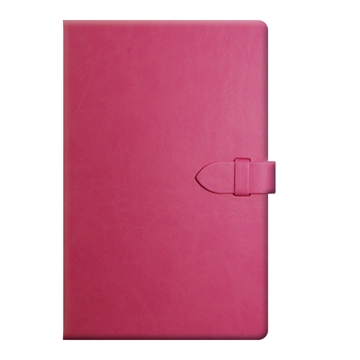 Jotter With Clasp Closure in Pink