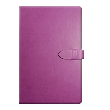 Jotter With Clasp Closure in Purple