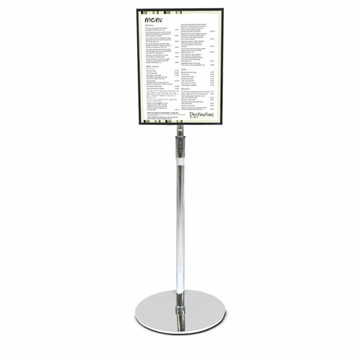 Signage for Events - Tilting Floor Standing Acrylic Sign Holder