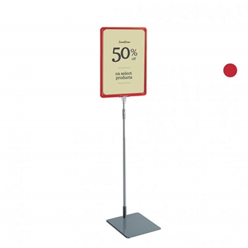 Signs of the Times - Red Framed Floor Standing Sign