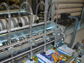 CL2 Composite Can Labelling Machine With Knives