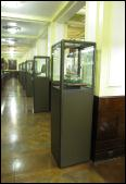 Pedestal Display Cabinets