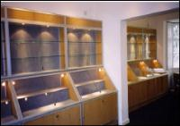 Sloping Front Display Cabinets