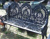 Cast and Wrought Iron Benches