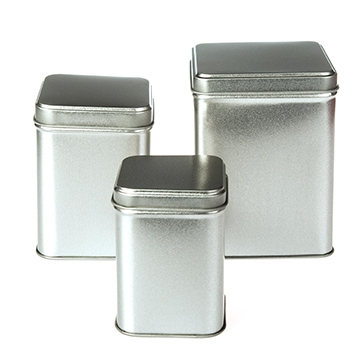 Square Stackable Tins