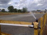 Dust suppression systems for Outdoor Arenas
