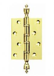 Brass finial Hinges