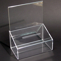Ballot or Suggestion Box For Cards or Coins