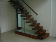 Contemporary staircase In Alderley Edge