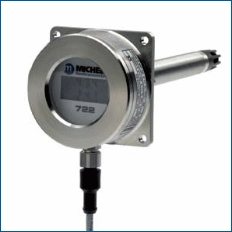 DT722 Duct Mount Rugged Industrial Relative Humidity and Temperature Transmitter