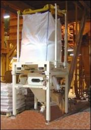 Low Loader Bulk Bag Discharger