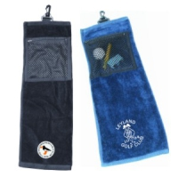 Durham Double Fold Golf Towel with Pocket