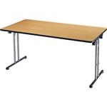 Folding Stacking Tables for Multi-Use
