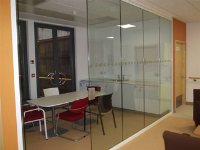 Commercial Frameless Glass Sliding Doors
