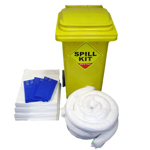 100 Litre Oil and Fuel only Mobile Spill Kit