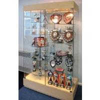 Double-bay Glass Display Cabinet
