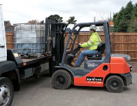 Toyota 2.5 Tonne Industrial Forklift Hire
