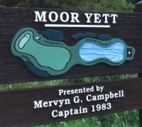 Carved Golf Club Wooden Sign Systems