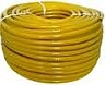 Yellow Minibore Reinforced Hose, 8mm id / 13.5mm od