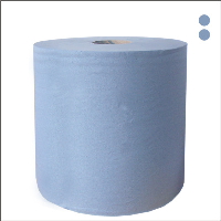 Blue 2ply Centrefeed Paper 6 Rolls by 110m