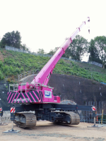 Telescopic Crawler Crane Hire