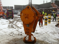 Used crane hook blocks