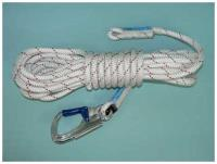 10m of 11mm Kernmantle Rope with sewn thimbled eye termination